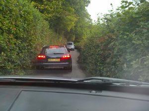 Weg ins Dartmoor 8.10.17